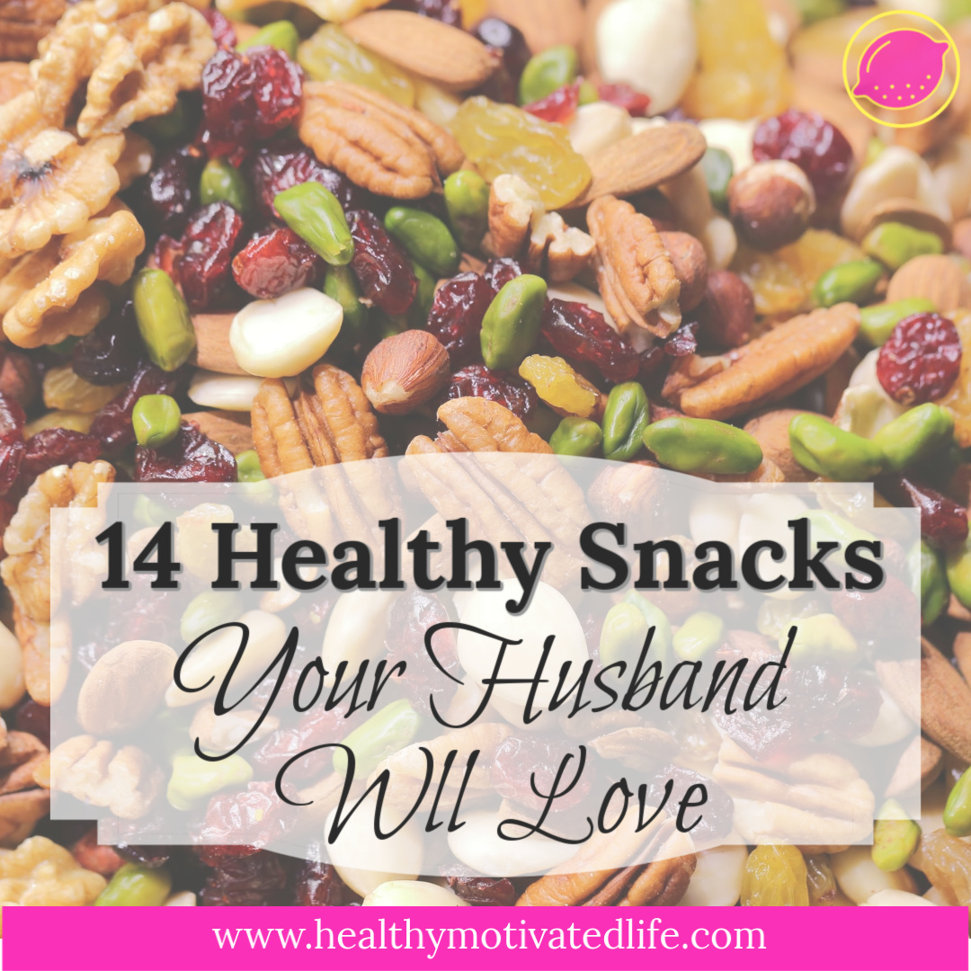It's so much easier to eat healthy when your significant other is on board too. Here are some go-to snacks in my house that my husband loves as much as I do.