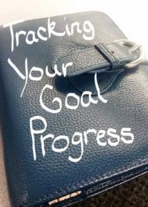 Breaking down your huge goals to more manageable monthly, weekly, even daily smaller goals and diligently tracking your progress can be the key to your success