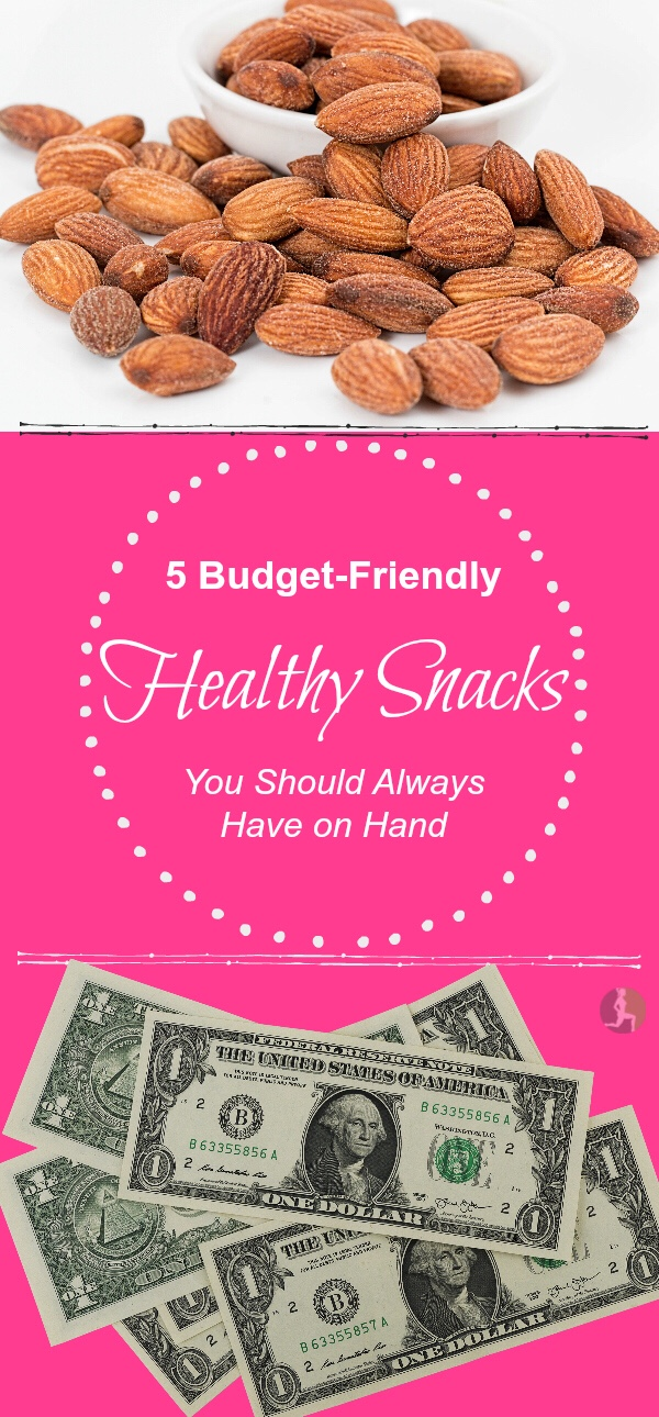 I've found my own success in weight loss with eating real foods, on a budget and these are my top 5 inexpensive go-to snacks