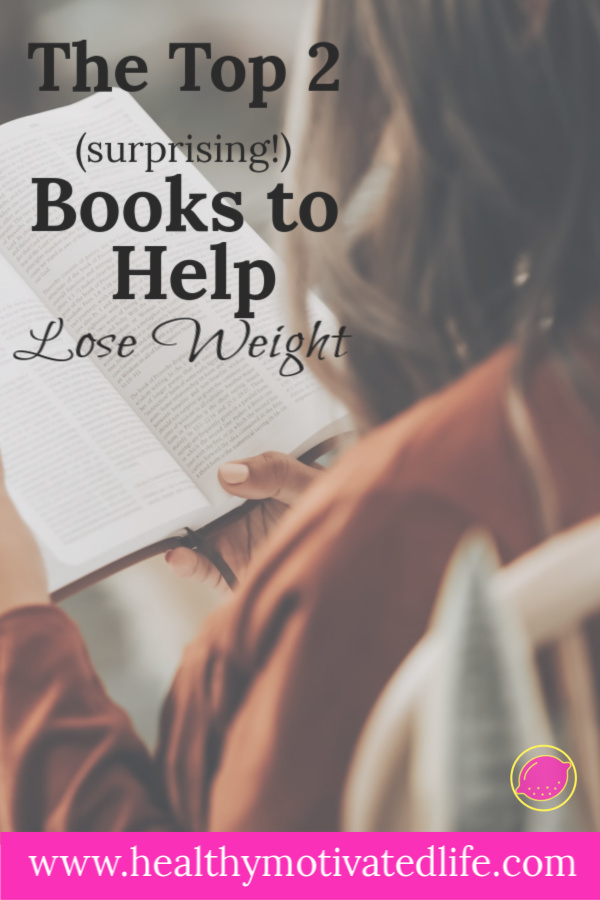 Did you know that you can read your way to better health? I lost 40 pounds, and it all started with these two books . . .