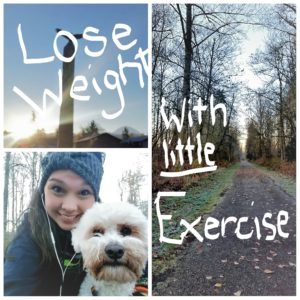 How to lose weight with very little exercise - healthily!