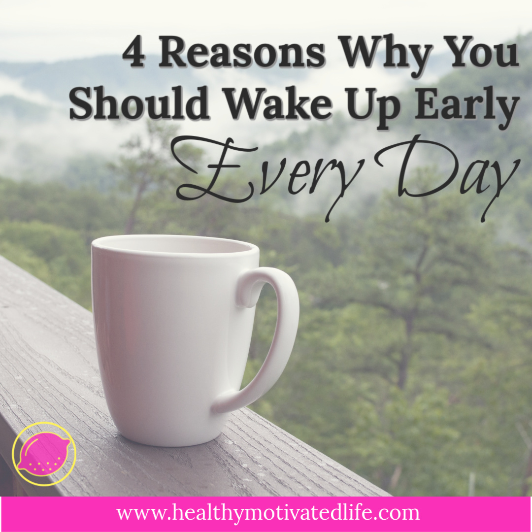 Waking up early doesn't have to be a bad thing. I do it by choice every day and I've never been happier. What kind of crazy person does such a thing?!