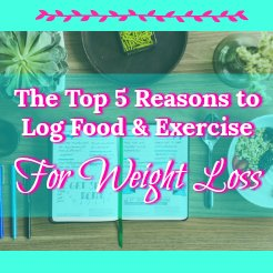 "In today's fast-paced world, it's too easy to mindlessly eat little ""treats"" here and there without realizing that they are becoming habits. Here are the top 5 benefits to maintaining a food and exercise log."