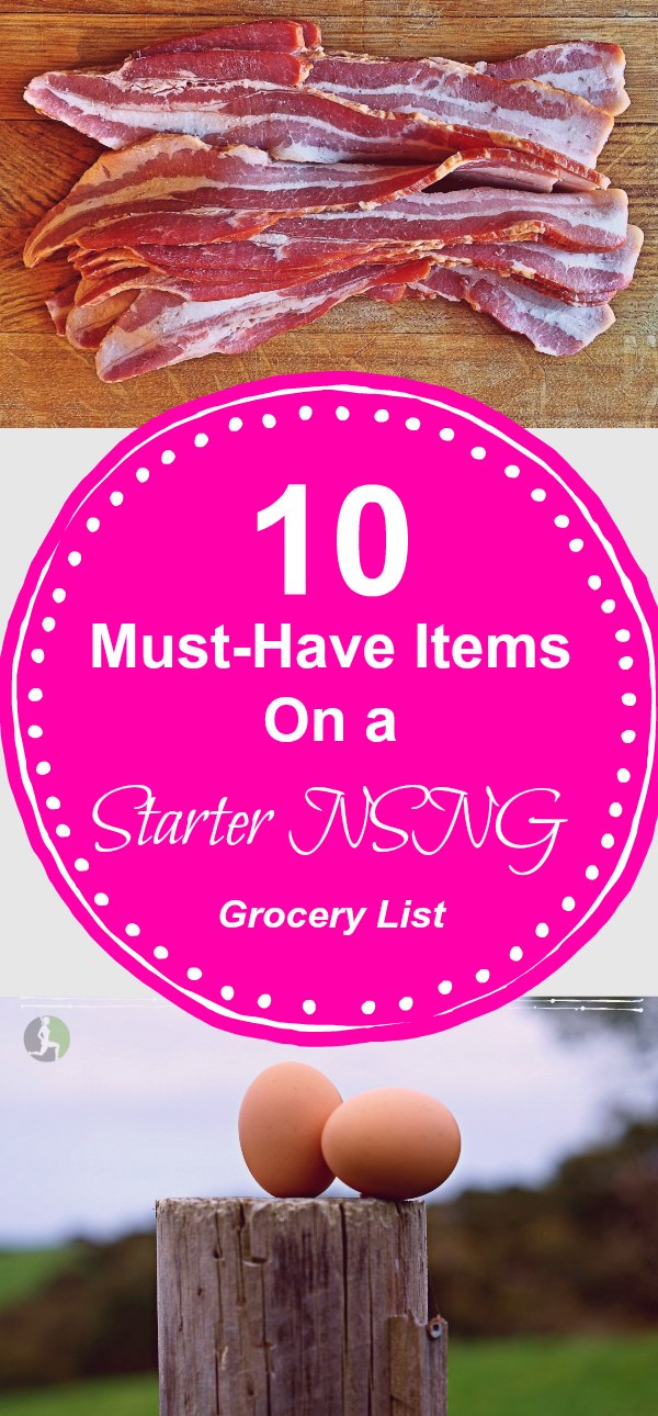 Since beginning eating No Sugar & No Grains, I have found that there are certain staples we always have in the kitchen. If you are new to this way of eating, this guide is a great start for your first grocery trip.