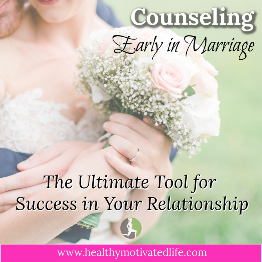 Counseling has a lot of negative connotations, especially in marriage. My husband and I attended some counseling sessions together while we were engaged and right after marrying. For us, those early sessions set the solid foundation that our marriage is built upon.
