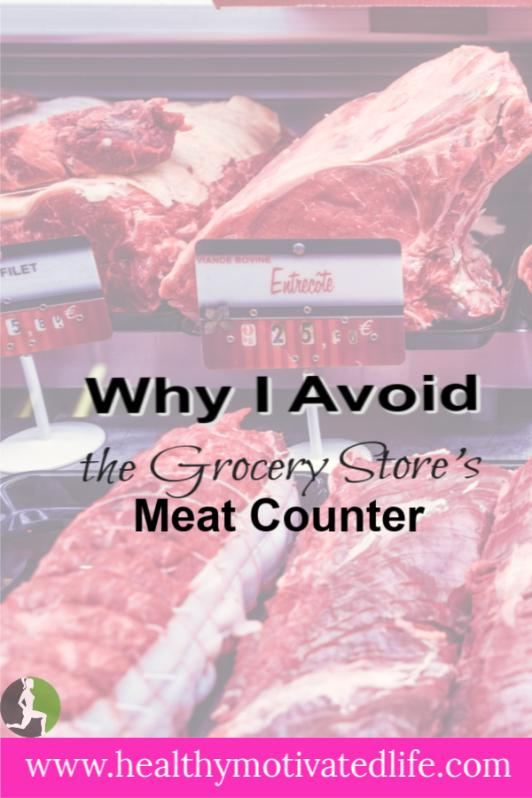 For health reasons, I usually skip by the meat counter at the grocery store. And no, I'm not a vegetarian. Not even close.