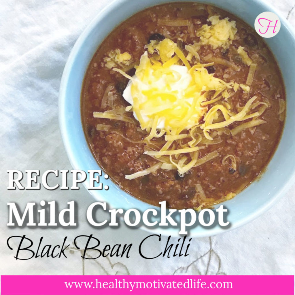 A mild chili to please your whole crowd.
