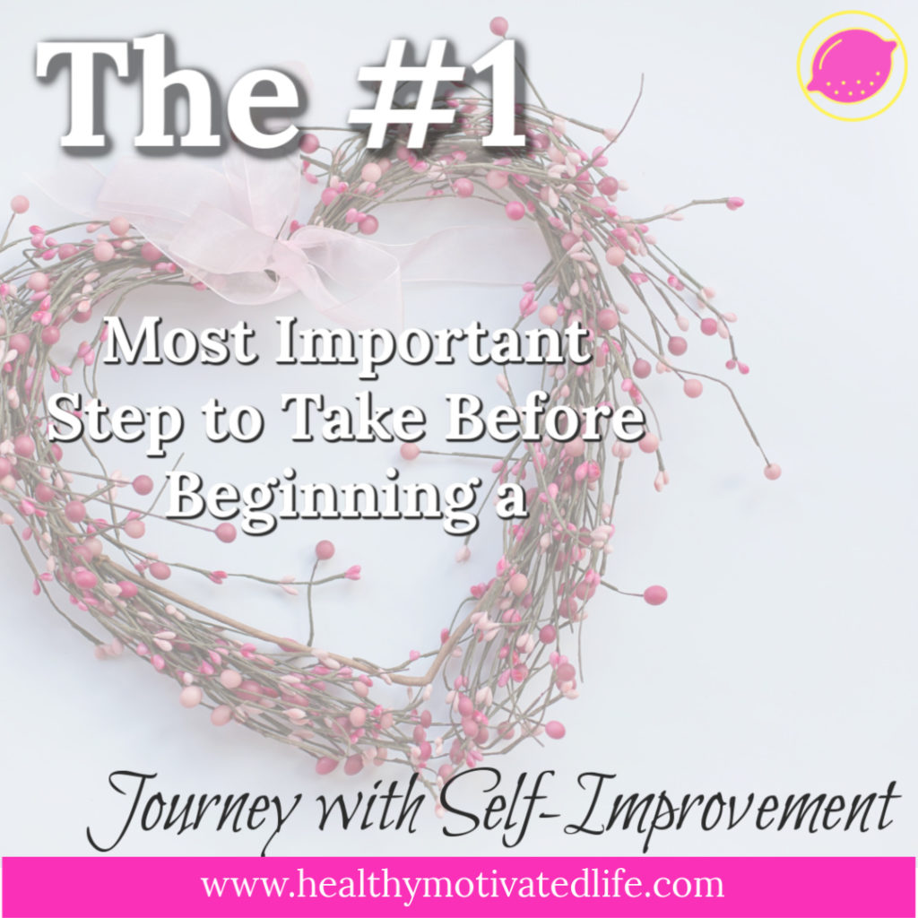 Everyone can stand to improve in some way or another. Those who see long-term success are the ones who know where they can improve, but love themselves for who they are now.