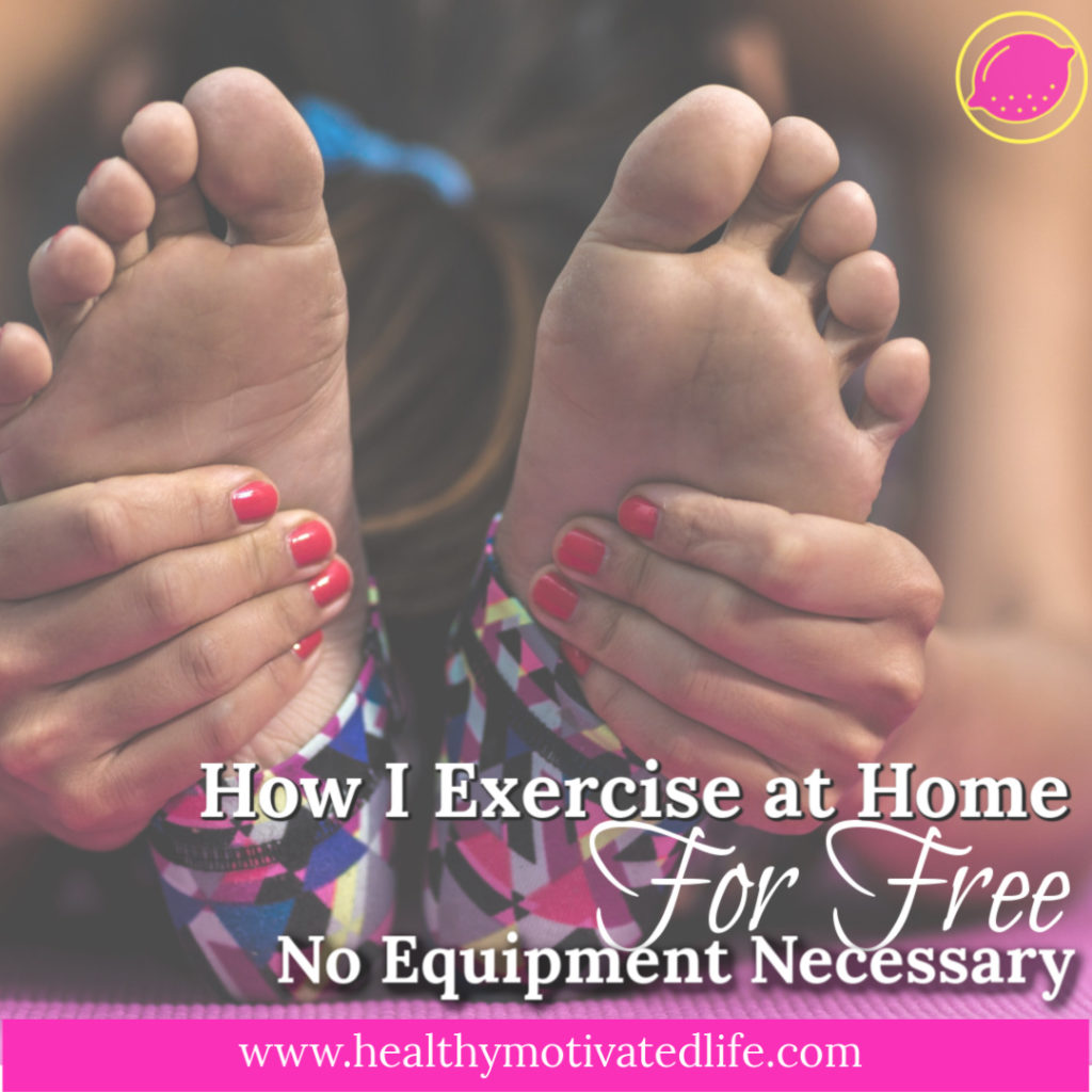 You can make a great workout happen on your own, at home, with no equipment at all. In other words, it doesn't have to cost a penny to exercise.