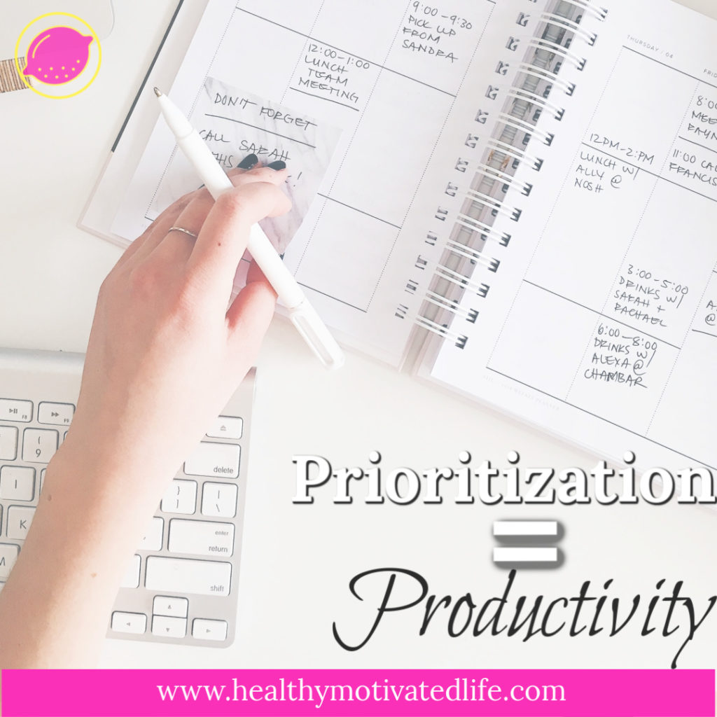 Life can be overwhelming. Adjust your priorities to make it a little easier to manage.