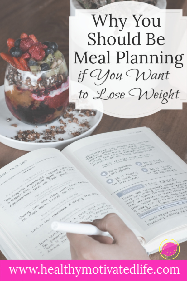 How meal planning has changed my life