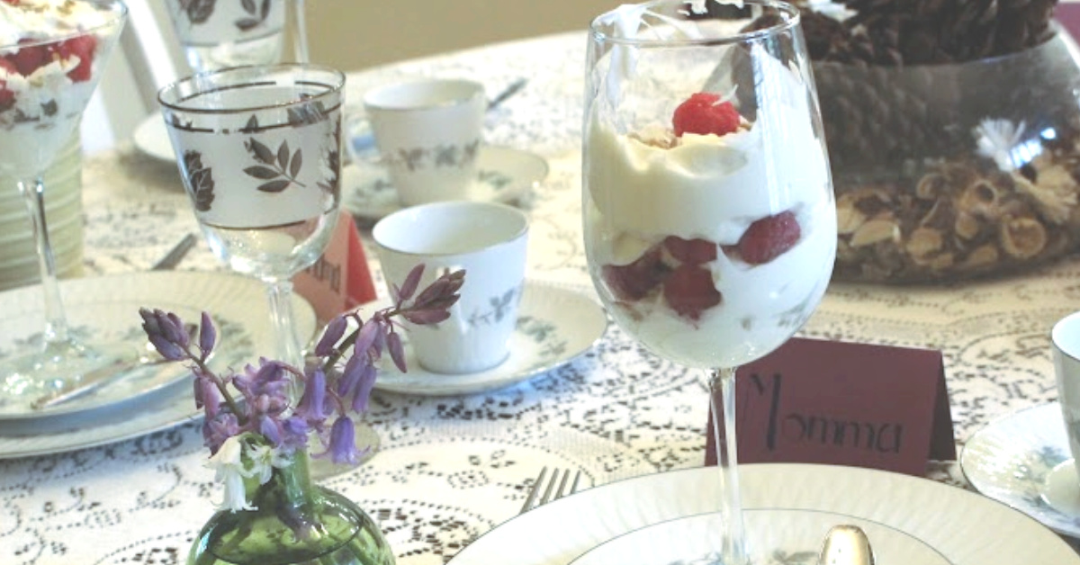 Recipe   Paleo Yogurt Parfait
