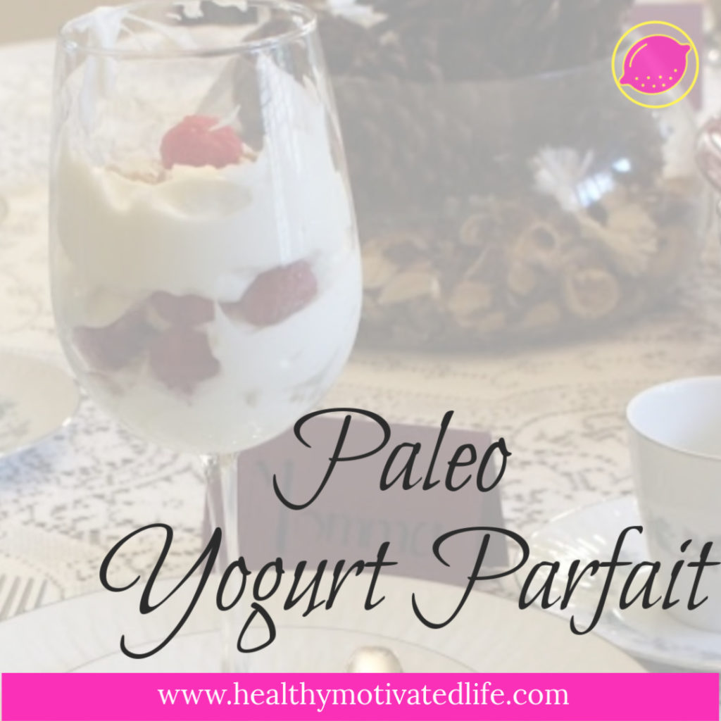 These days, I eat a mostly Paleo diet, which includes coconut milk in my coffee, and this yummy coconut yogurt parfait with homemade ingredients for breakfast.