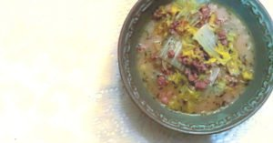 Recipe | Simple Sausage and Cabbage Soup