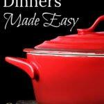 Simple Lower Carb Dinners | Weeknight Dinner Ideas